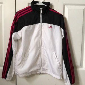 EUC Adidas Vintage Bomber/Track Jacket